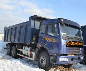 Аренда самосвалов китайского производства в Великом Новгороде