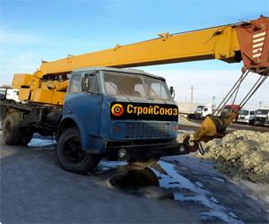Автокран 11 т. 14 м. на базе МАЗ, 2-осный