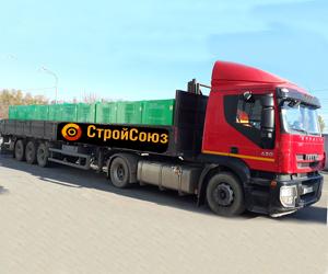 Шаланда IVECO длинной кузова 13,6м шириной 2,45м