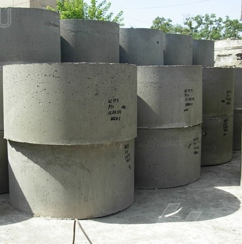 Кольцо стеновое доборное КС 15.4 замок