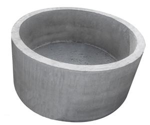 Кольцо стеновое с дном КСД 10.9 замок